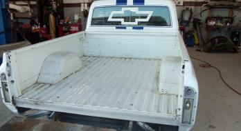 1969 Chevrolet C10 - Before