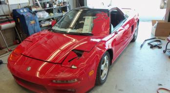 1993 Acura NSX - Before