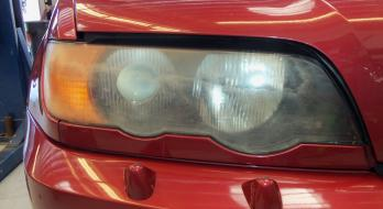 Headlight Restoration - Before