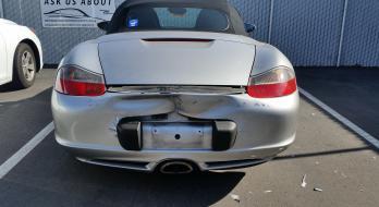 2003 Porsche Boxter - Before