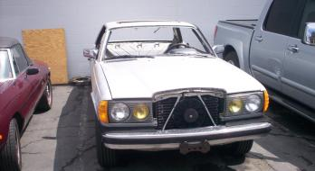 1982 Mercedes-Benz 300 CD-T - Before