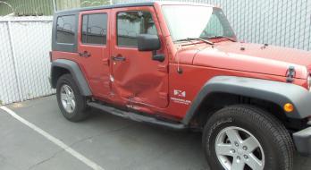 2009 Jeep Wrangler - Before