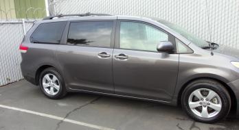 2011 Toyota Sienna - after
