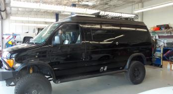 Ford E350 - After