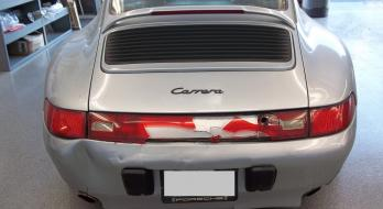 1995 Porsche 911 Carrera - Before