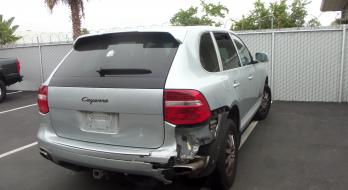 2008 Porsche Cayenne - Before